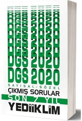 Yediiklim Yayınları 2020 Dgs Sayısal Sözel Bölüm Son 7 Yıl Çıkmış Sorular