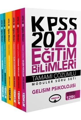 Yediiklim Yayınları 2020 Eğitim Bilimleri Tamamı Çözümlü Modüler Soru Bankası