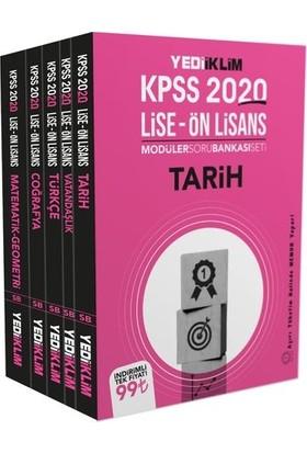 Yediiklim Yayınları 2020 Kpss Ortaöğretim-Önlisans Gk-Gy Tamamı Çözümlü Modüler Soru Bankası