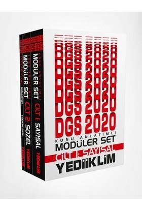 Yediiklim 2020 Dgs Sayısal Sözel Konu Anlatımlı Modüler Set