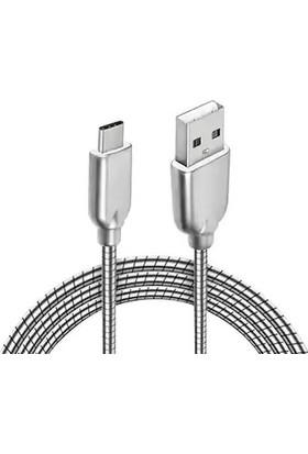 Powerway CX03 Type-C 2.1A Hızlı Şarj ve Data Kablosu 1 mt