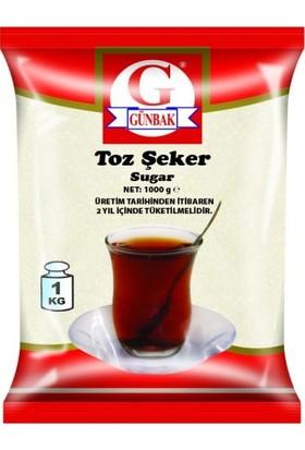 Günbak Toz Şeker 1 kg