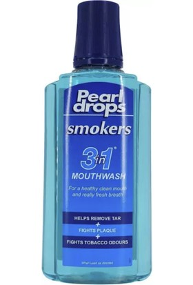 Pearl Drops Smokers 3 Özellik 1 Arada Ağız Çalkalama Suyu 400ML