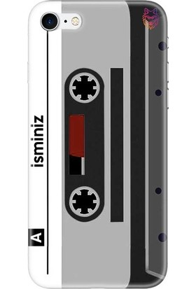 Wolf Dizayn Apple iPhone 7 Siyah Silikon Kılıf - Tape