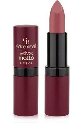 Golden Rose Velvet Matte Ruj 16