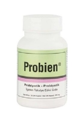 Probien Probiyotik Prebiyotik Sinbiyotik 30 Kapsül