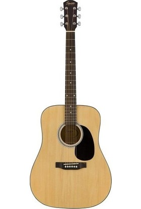 Squier SA-150 Dreadnought Naturel Akustik Gitar