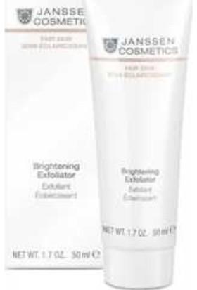 Janssen Cosmetics Fair Skin Brightening Exfoliator 50 ml JAN015040
