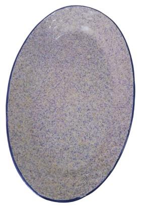 Evanilife 26.5 cm Oval Servis Kayık Tabak