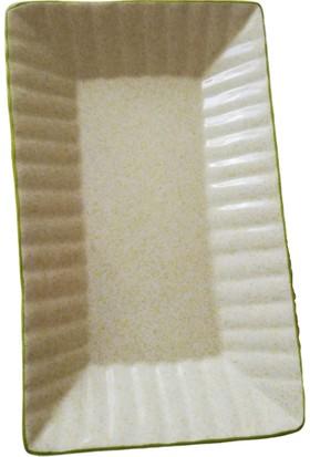 Evanilife 27.5 cm Dikdörtgen Servis Kayık Tabak