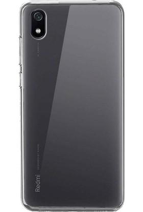 Case 4U Xiaomi Redmi 7A Kılıf Süper Silikon Arka Kapak Şeffaf