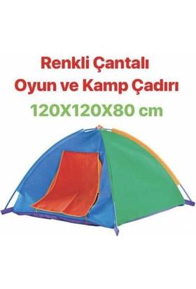 Furkan Homy Renkli Çantalı Kamp ve Oyun Çadırı