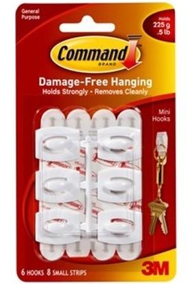 Command 17006-BULK Askı Bant 6 Adet Askı - 8 Adet Bant