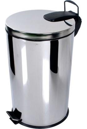 Aksesuaros 40 lt Çöp Kovası Paslanmaz XL