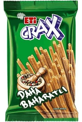 Eti Crax Baharatlı Çubuk Kraker 50 gr (20'li)