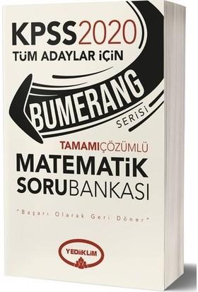 Yediiklim 2020 Kpss Bumerang Tamamı Çözümlü Matematik Soru Bankası - Komisyon