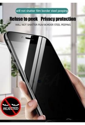 CoverZone Samsung Galaxy A80 Gizli Görünmez Lively Temperli Ekran Koruyucu Siyah + Dokunmatik Kalem