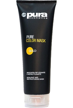 Pura Kosmetica Pure Color Mask Gold 250 ml