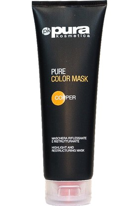 Pura Kosmetica Pure Color Mask Copper 250 ml