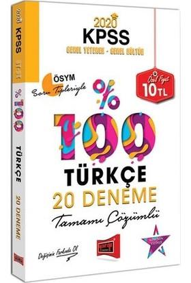 Yargı Yayınları 2020 Kpss Türkçe Tamamı Çözümlü 20 Deneme