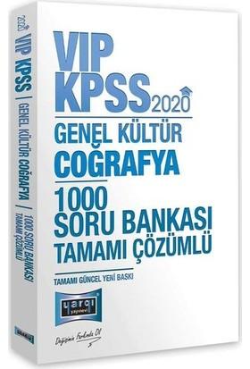 Yargı Yayınevi 2020 KPSS VIP Coğrafya Tamamı Çözümlü 1000 Soru Bankası