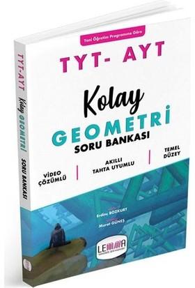 Lemma Yayınları Tyt Ayt Kolay Geometri Soru Bankası