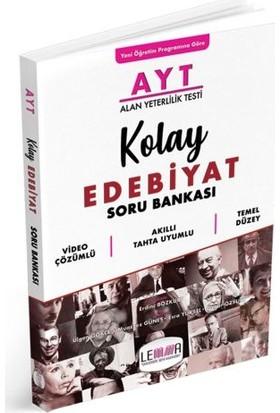 Lemma Yayınları Ayt Kolay Edebiyat Soru Bankası