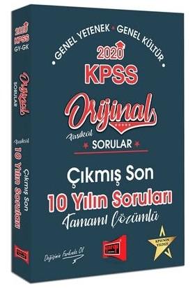 Yargı Yayınları 2020 Kpss Genel Yetenek Genel Kültür Sorular Fasikül Tamamı Çözümlü Çıkmış Son 10 Yılın Soruları