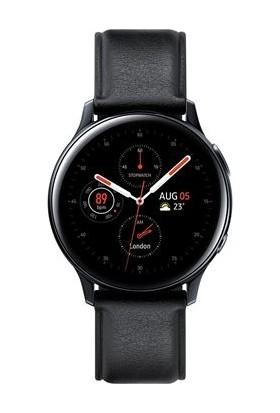 Samsung Galaxy Watch Active2 40mm Paslanmaz Çelik Siyah-SM-R830NSKATUR