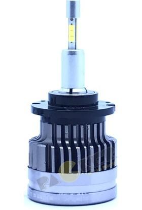 Stark D3S Şimşek Etkili Cree LED Xenon Ampul Beyin Balast Gerektirmez, 8200 Lümen 6500 Kelvin Beyaz Iki Adet LED Ampul