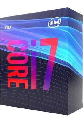 Intel Core i7 9700 3GHz 12MB Cache LGA1151 HD630 İşlemci