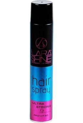 Lara Shine Sac Spreyi 400 ml Ultra Strong Pro-Vıt B5