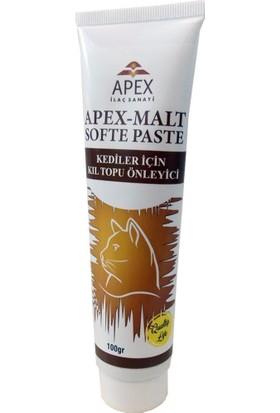 Apex Malt Softe Paste 100 g (Kediler İçin Kıl Topu Önleyici)