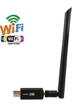 OEM RTL8812BU 5Ghz/2.4Ghz 802.11AC USB 3.0 1200Mbps Wifi Adaptörü Çift Bant