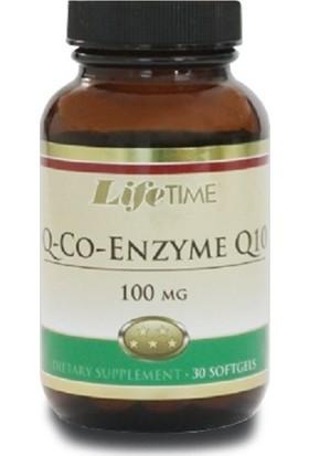Life Time Q-Co-Enzyme Q10 100Mg 30 Softgels LIF112164
