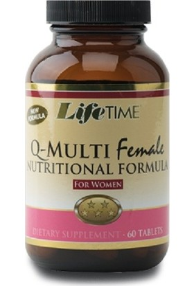 Life Time Q-Multifemale 60 Tablet LIF921032