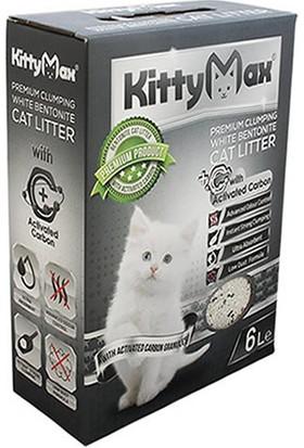 KittyMax Aktif Karbonlu Kedi Kumu 6 l 4 Al 3 Öde