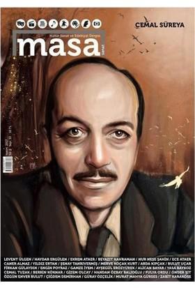 Masa Dergi Dergisi Sayı: 10 Kasım 2017