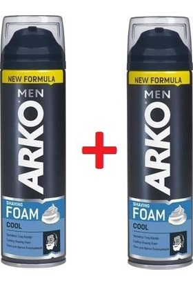 Arko Tıraş Köpüğü Cool 200 ml x 2'li Set