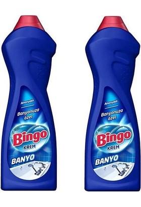 Bingo Krem Banyo Amonyaklı 750 ml x 2'li Set