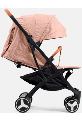 Yoya Plus 3 Bebek Arabası Siyah Kasa - Bej