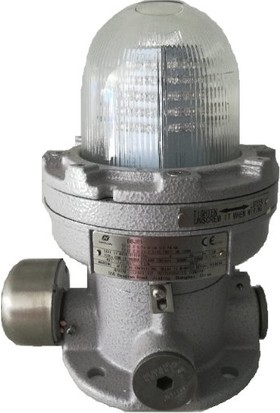 Expfoor Tca 0029 Exproof Syrex Is Siren / Flaşör (Atex) Ip65 Kırmızı Lens