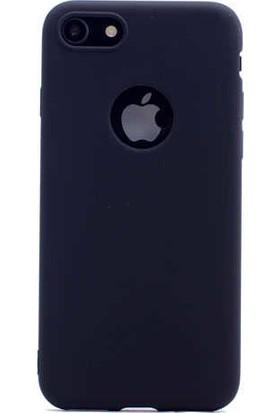 Zore Apple iPhone 7/8 Kılıf Zore Premier Silikon - Siyah