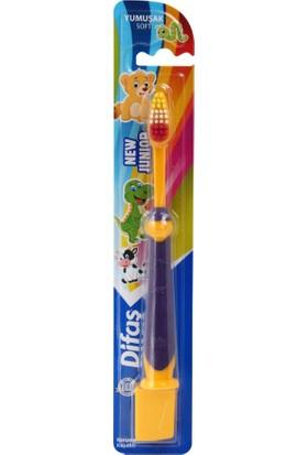 Difaş - New Junıor Diş Fırçası Hayvan Figürlü 2'li