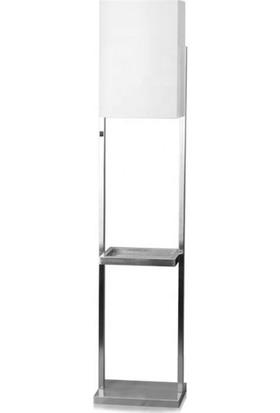Tsd Dekorasyon Metal Ayaklı Lambader Bej