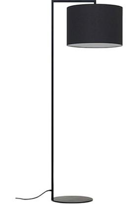 Tsd Dekorasyon Metal Ayaklı Lambader Sokak Lambası Siyah
