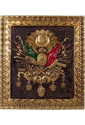 Güner Ofis Osmanlı Devlet Arması 93*103