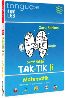 Tonguç Akademi 8. Sınıf Matematik Taktikli Soru Bankası