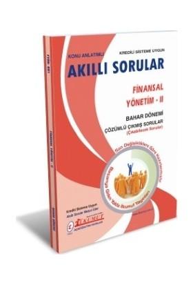 İlkumut AÖF - Finansal Yönetim - II