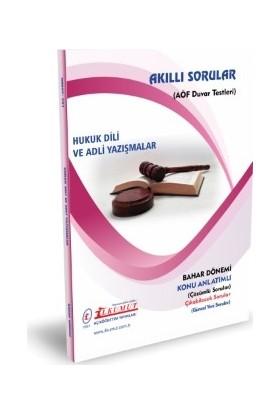 İlkumut AÖF - Hukuk Dili ve Adli Yazİşmalar